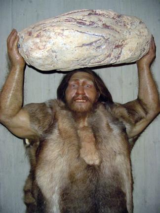 manly caveman