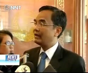 Thailand's Minister of Culture Nipit Intarasombat