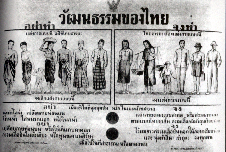 Thai_dress_mandate_by_Pibunsongkram