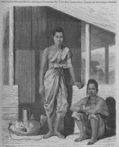 Siamese women, early Rattanakosin period