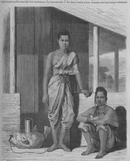 Siamese women, early Rattanakosin period