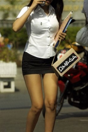 Thailand: No. 1 in sexiest (female) student uniform